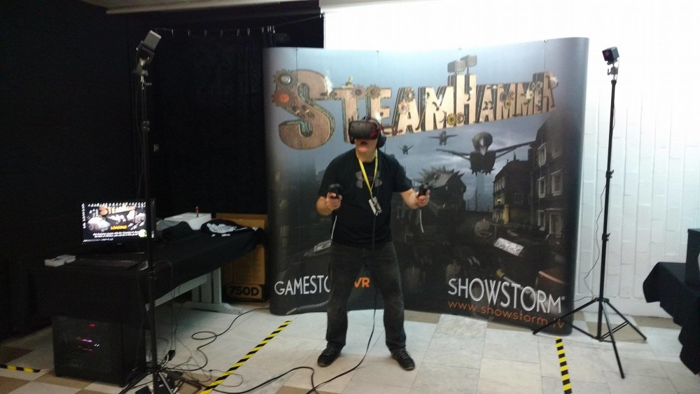 GamestormVR on Tour with SteamHammerVR