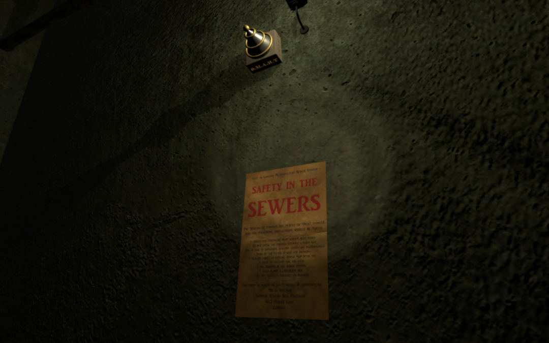 An AMAZing Update – V1.0.4 – Into the Sewers!