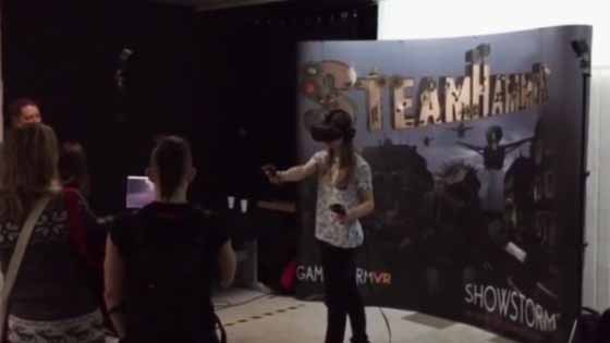 SteamHammerVR at Ars Independent Festival